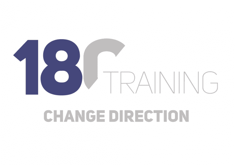180 Training Logo