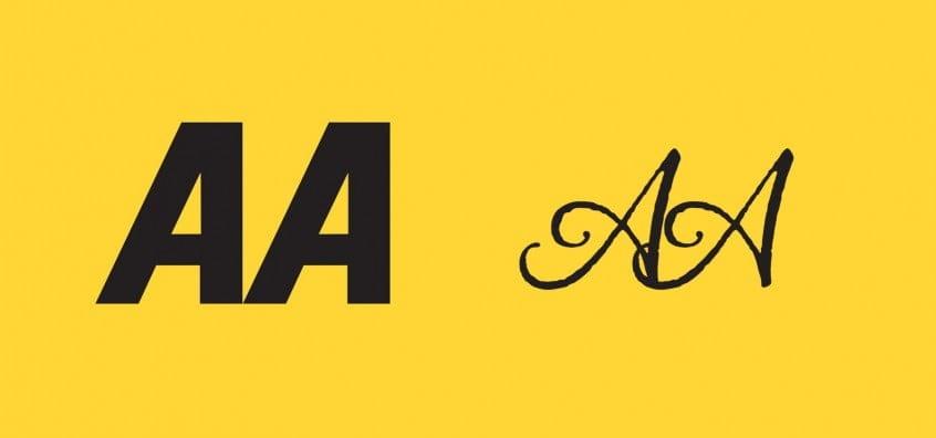 The AA Logo in Alana