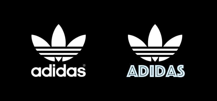 Adidas Logo in Phosphate