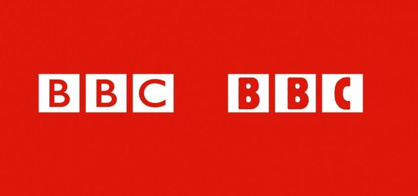 BBC Logo in Berthold Block Condensed
