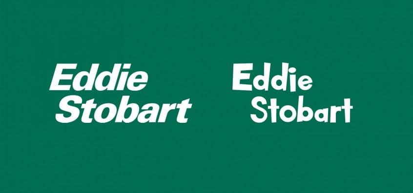 Eddie Stobart Logo In Kid Zone Font