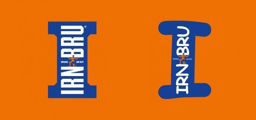 Irn Bru Logo In Comic Sans