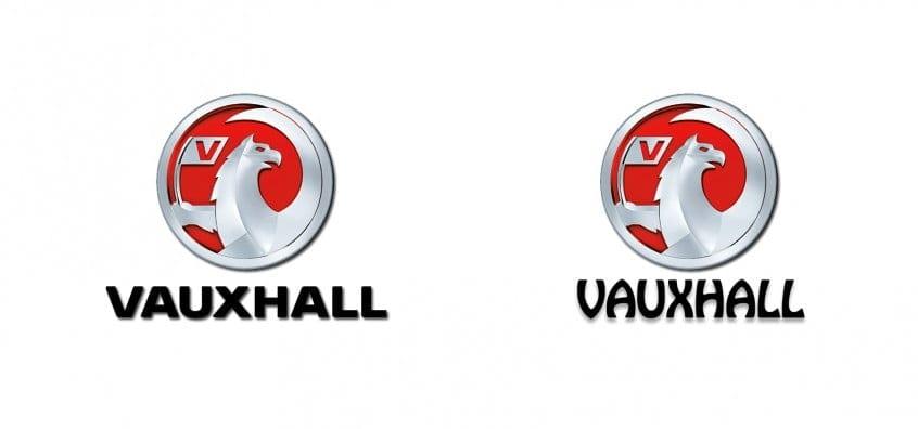 Vauxhall Logo In Hobo Std