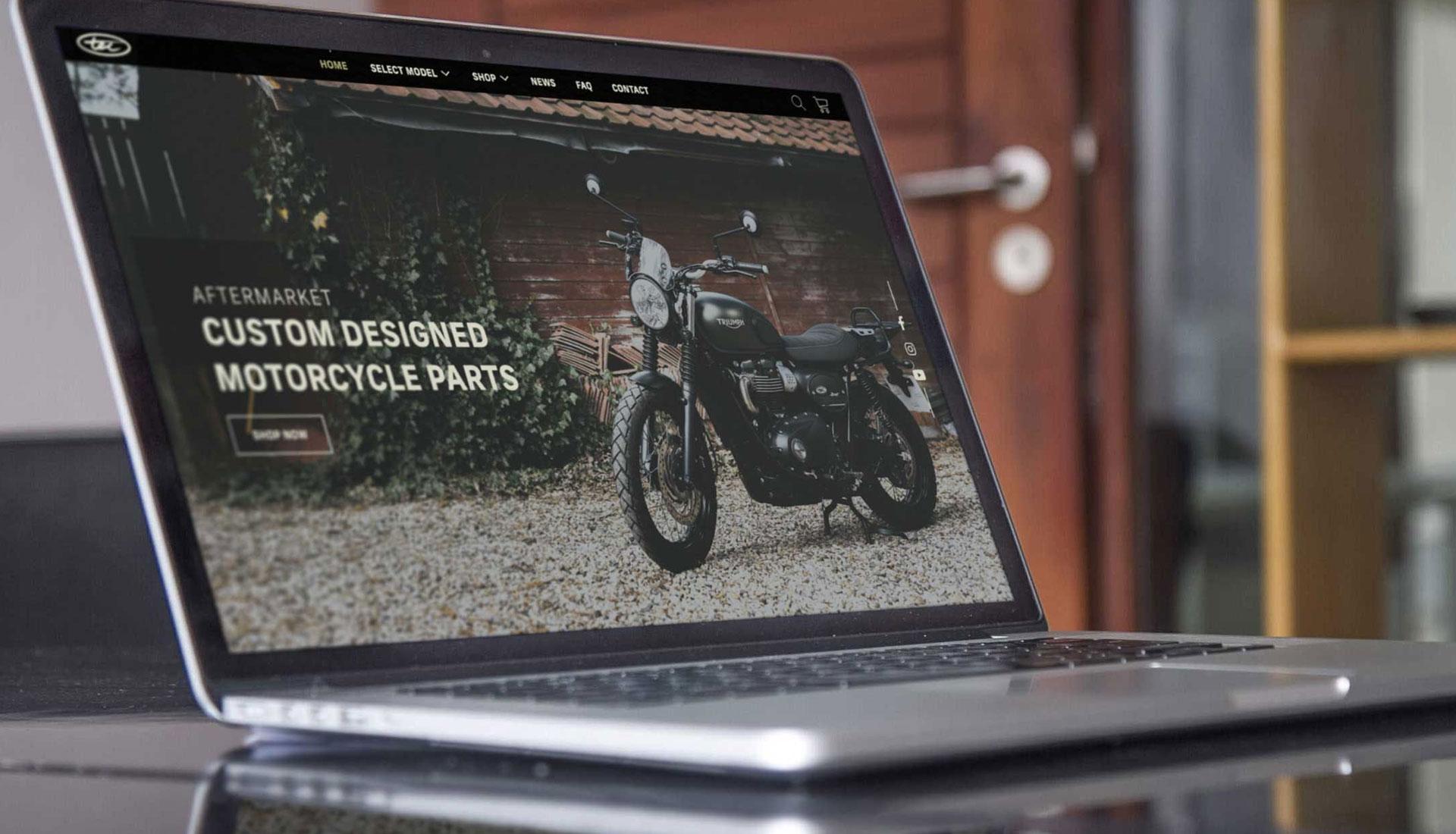 TEC Bike Parts Website