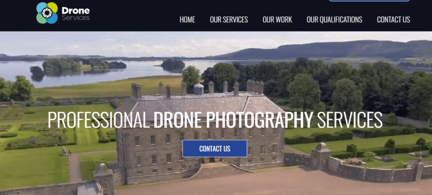 Video web trends drone services