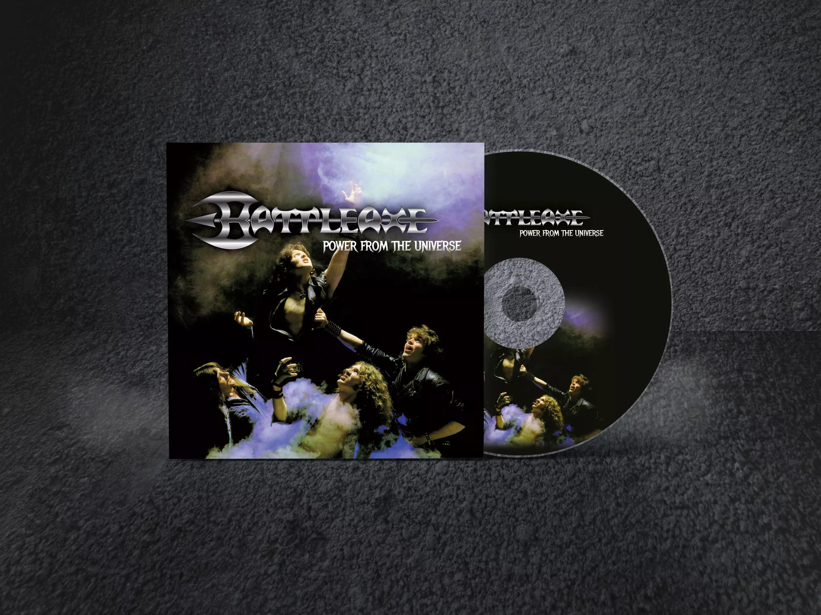 Battle-axe Digipak CD cover design