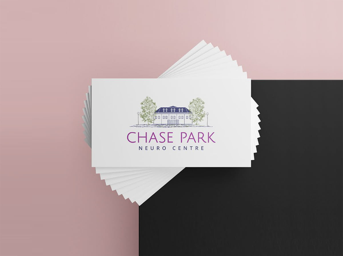 Chase Park business card designs