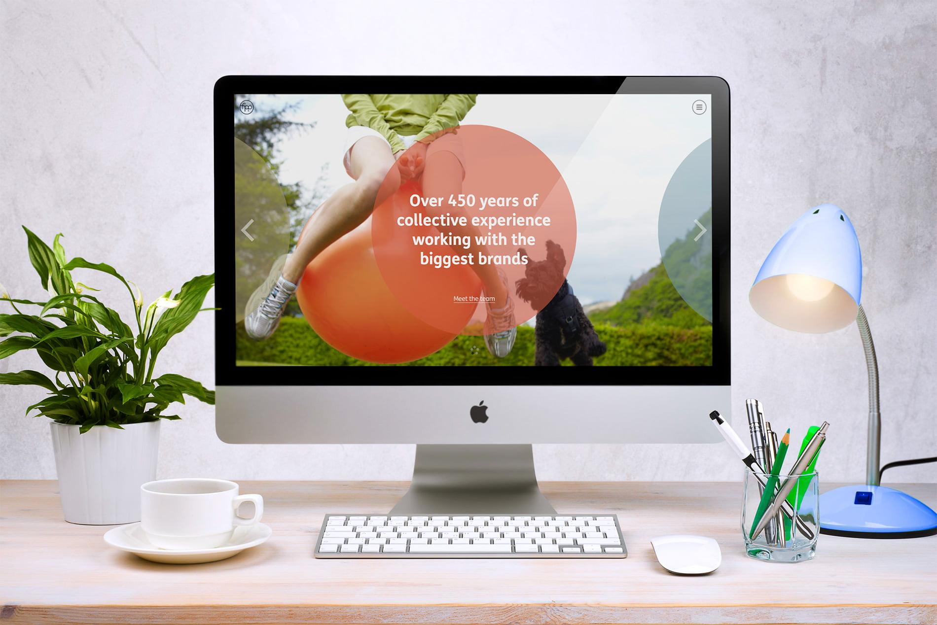 FPP website displayed on desktop