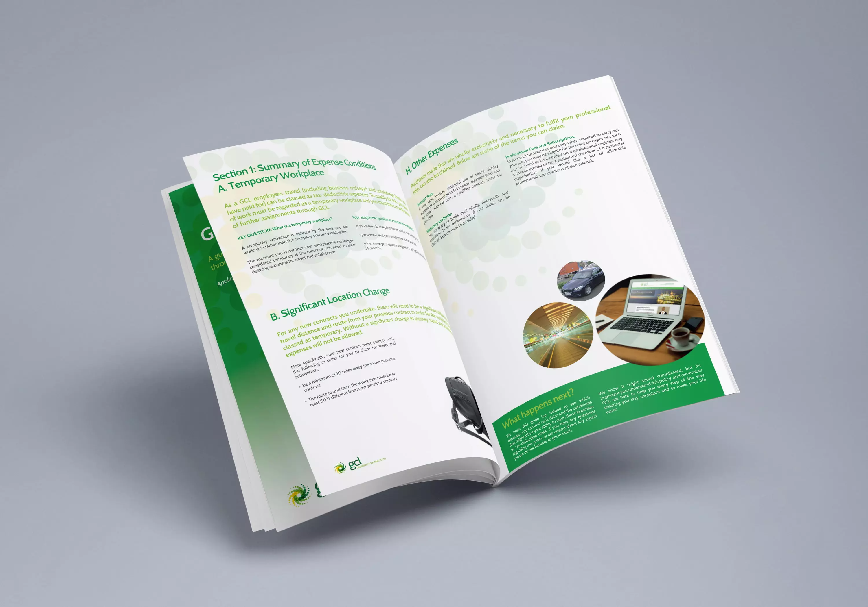 Greenwich Contracts booklet design