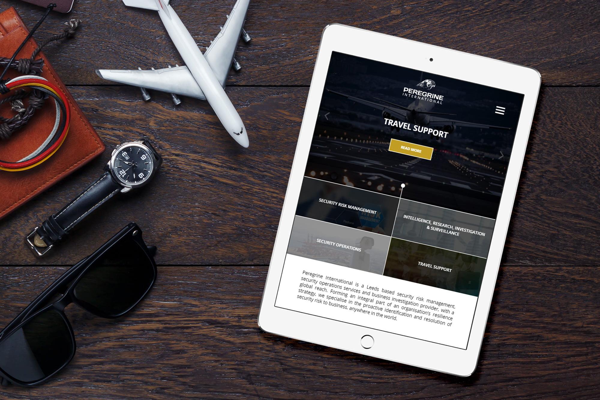 Peregrine International website