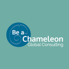 Be A Chameleon's Global Consulting logo design