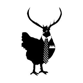 Hen & Stag's logo design
