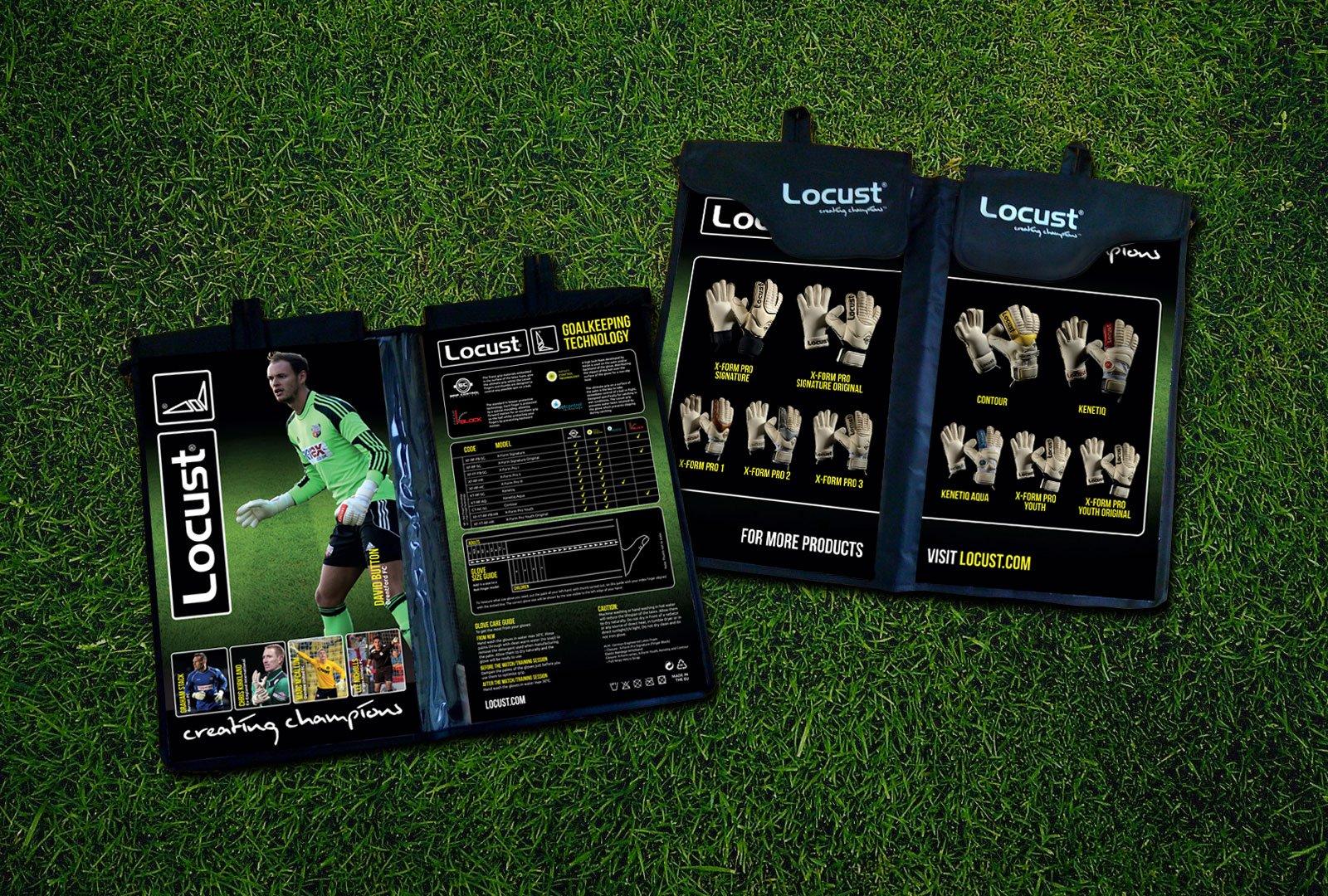 Locust UK packaging design