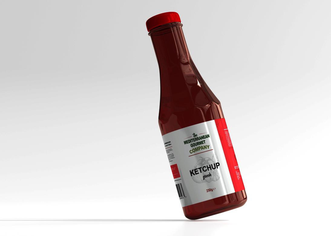 The Mediterranean Gourmet Company Bottle
