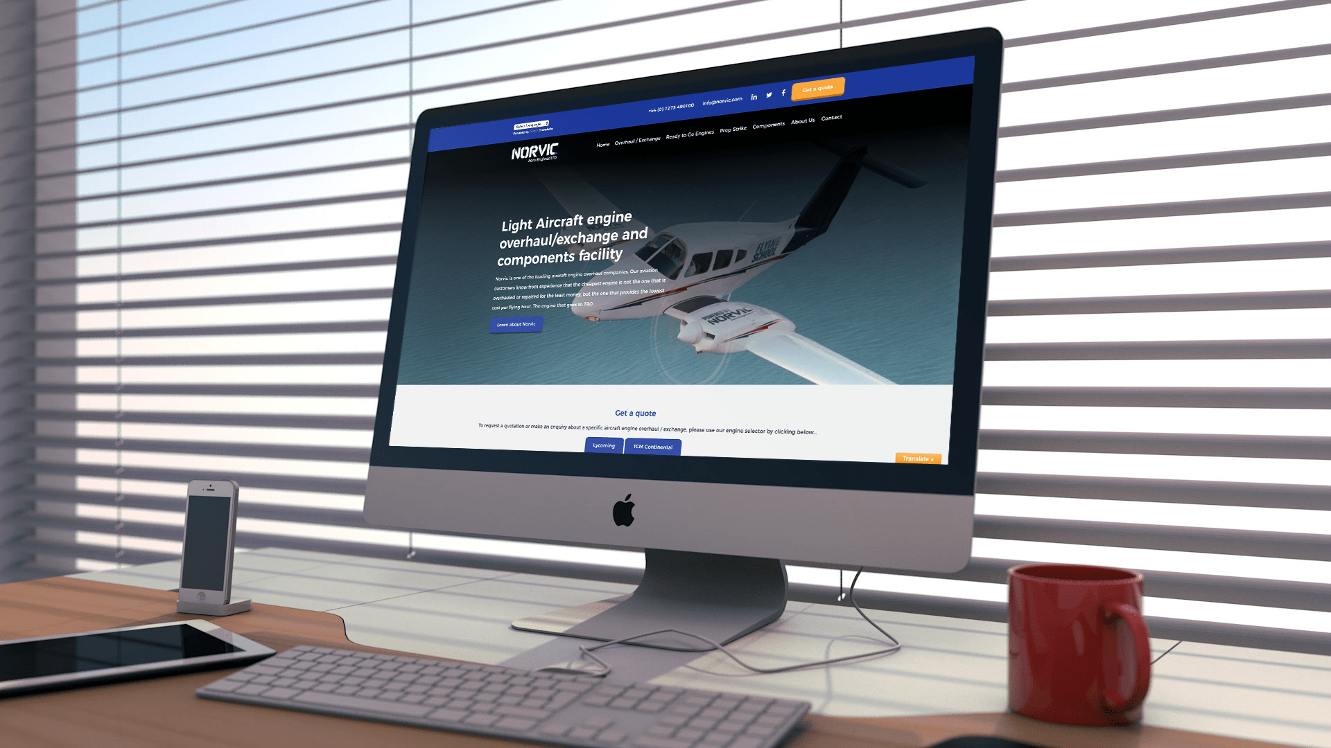 Norvic Aero Engines website