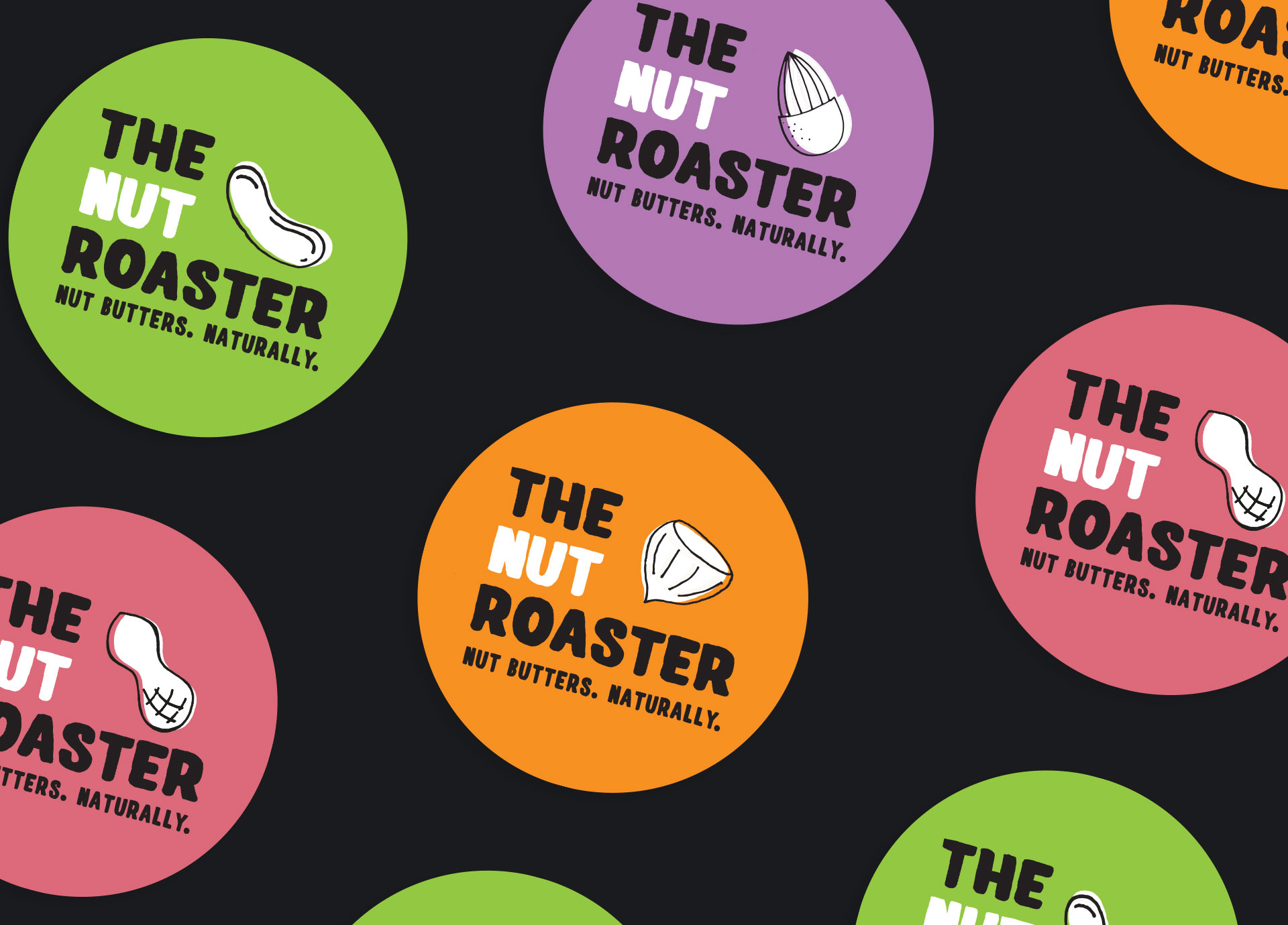 The Nut Roaster Labels