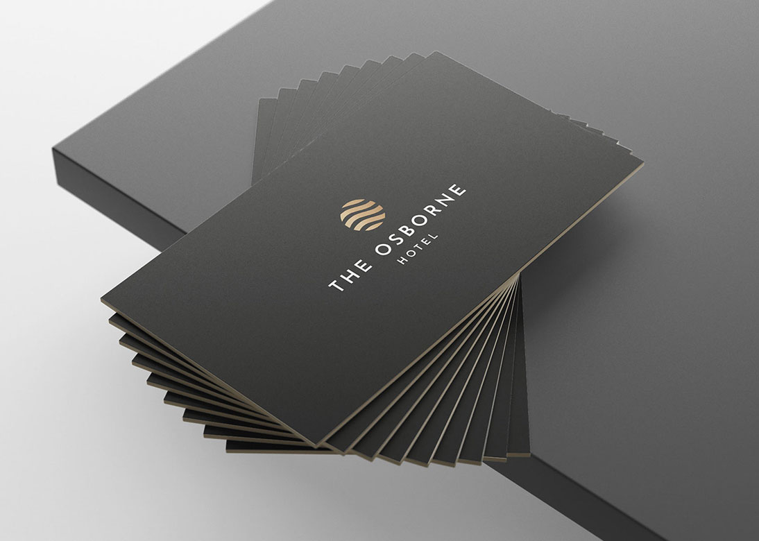 The Osborne Hotel Business Cards