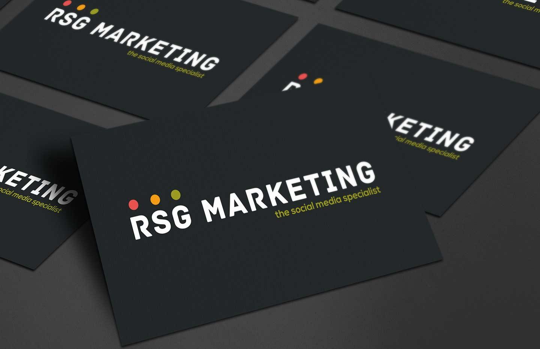 RSG Marketing business card design