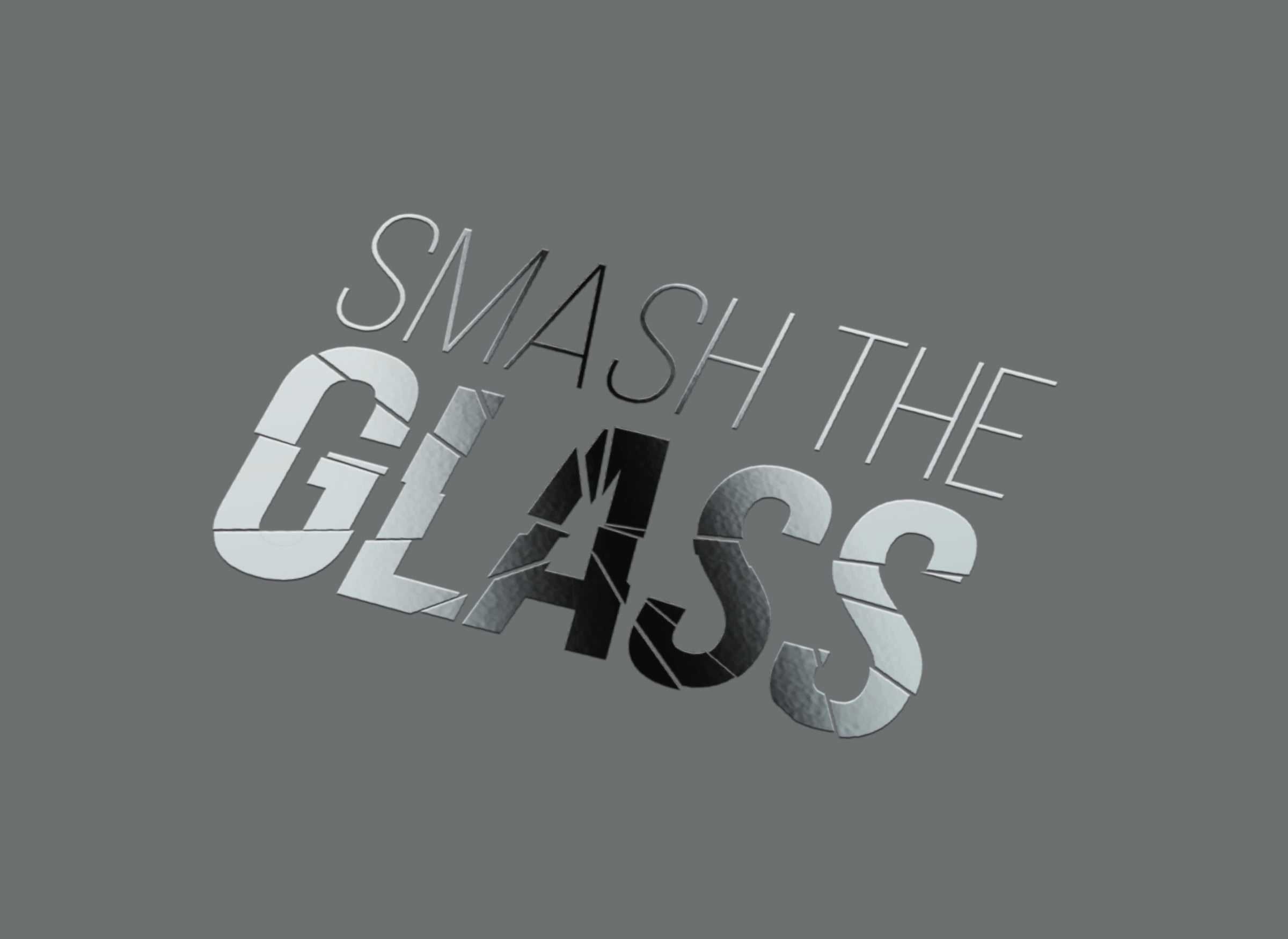 Smash The Glass logo design