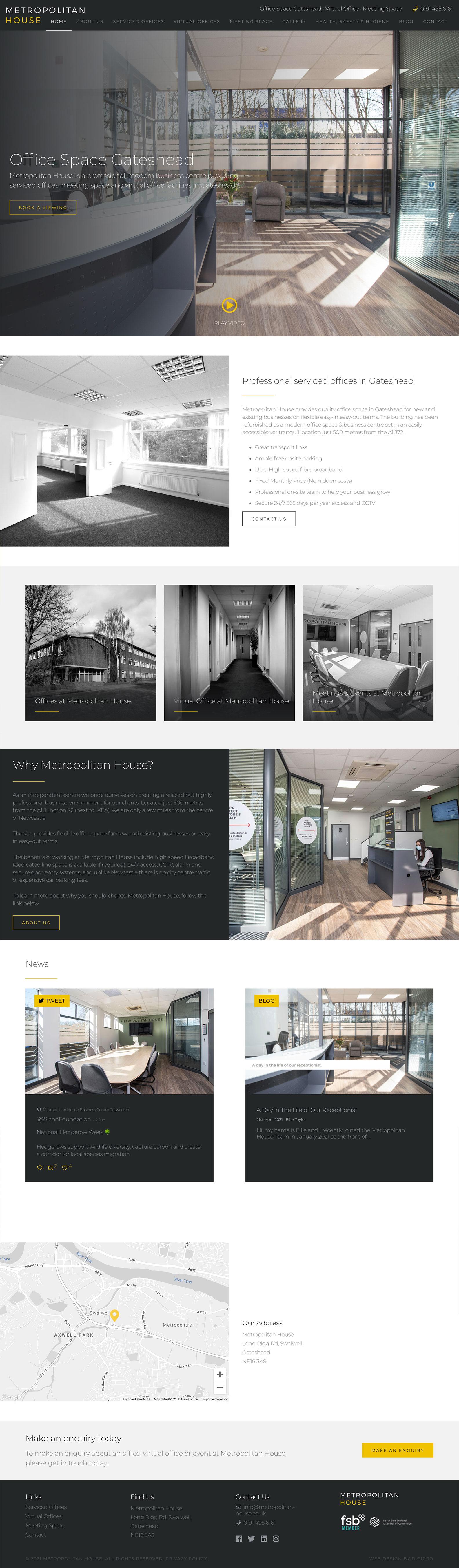 Met House - Desktop