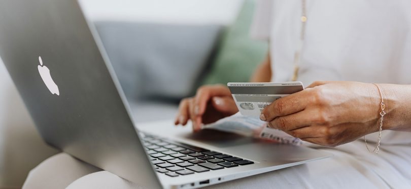 person making online purchaseperson making online purchase