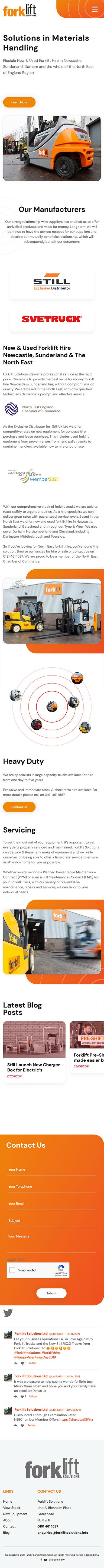 Forklift Mobile