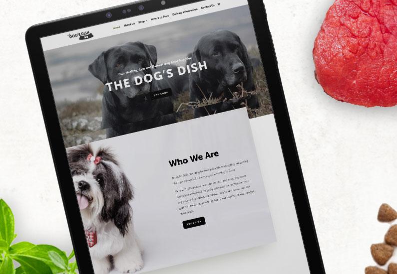 The Dog's Dish Website